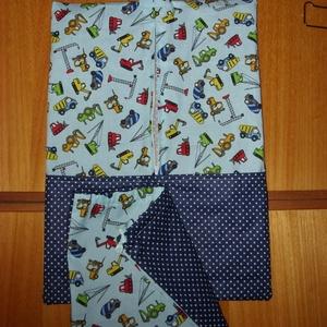 Nagy ovis kellék fiús csomag - ágyneműhuzat vagy bélelt ágynemű, derékalj lepedő,,ruha - és torna zsák szett - játék & gyerek - Meska.hu