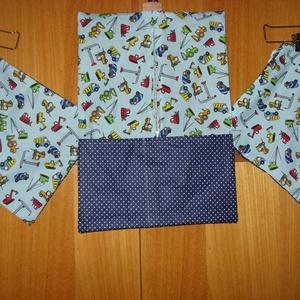 Fiús és csajos 3 db-os Ovis  ruhazsák ás torna zsák szett 100% pamut  55 x 40 cm - játék & gyerek - Meska.hu