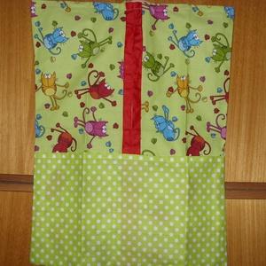 Vállfás ovis ruhás zsák - más méretben is 100% pamut - játék & gyerek - Meska.hu