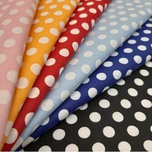 Pöttyösök  -Sok-sok színben - 100% pamut  textilek, Textil, Pamut, Mindenmás, Varrás, Textil, Jó minőségű, divatos dekor pamutvászon\n\nFelhasználás: felsőruházat, lakástextil ágynemű. falvédő, fü..., Meska