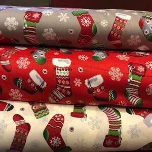 Karácsonyi prémium textil - német  extra design textil  - 140 cm, Textil, Pamut, Mindenmás, Varrás, Textil, német design - Egyedi tervezésű - jogdíjas textil\n\nTextil - akár - patchwork - anyag\n\n100% pamut ext..., Meska