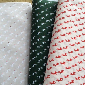 Karácsonyi apró rénszarvasok prémium textil - német  extra design - 140 cm, Textil, Pamut, Mindenmás, Varrás, Textil, Német design - Egyedi tervezésű - jogdíjas textil\n\nTextil - akár - patchwork - anyag\n\n100% pamut ext..., Meska