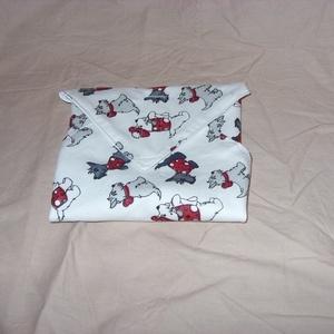 Wrap bag - újraszalvéta - sandwich bag - uzsonnás textil szalvéta - kids bag - vízhatlan szalvéta , Táska & Tok, Varrás, Meska