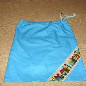Csajos Házikós különleges ovis ruha zsák  100% pamut textil - ovi- és sulikezdés - ovis zsák & ovis szett - ovis zsák - Meska.hu