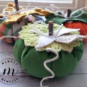 Dísztök dekoráció 3 db, hallowen dekoráció, őszi dekoráció, Otthon & Lakás, Dekoráció, Ablakdísz, Horgolás, Virágkötés, Meska