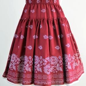 116-122-es pörgős szoknya, Táska, Divat & Szépség, Ruha, divat, Gyerekruha, Pörgős szoknya gumis derékkal több színben. 100% Pamut  116-122-es méretben   , Meska