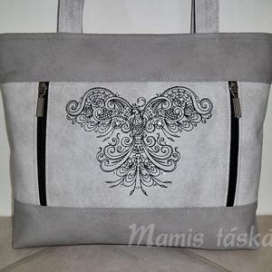Hímzett  táska  9.26 (mamis) - Meska.hu