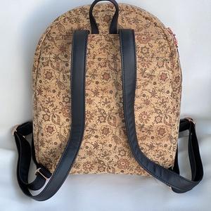 Parafa virágmintás mini hátizsák műbőr pánttal (Mamko) - Meska.hu