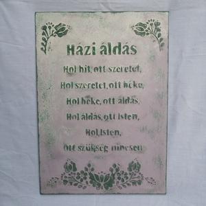 Házi áldás - Meska.hu