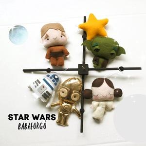STAR WARS Babaforgó, 3CPO, R2D2, Lea hercegnő, Luke Skywalker, Játék & Gyerek, Baba & babaház, Varrás, STAR WARS Babaforgó, Meska