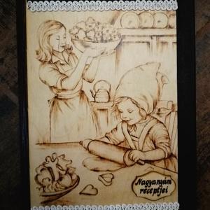 Bőrszegélyes Receptes Mappák, Otthon & lakás, Konyhafelszerelés, Receptfüzet, Famegmunkálás, Szeretnél egy egyedi,kézzel készült mappát ajándékozni szeretteidnek? Anyának? a Nagymamának? Ebbe a..., Meska