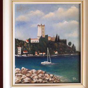 Nyár és tenger ( olaj, vászon ) (Manelle) - Meska.hu