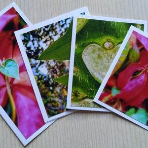 Kinyitható képeslapok Valentin-napra, anyáknapjára saját fotóval - szív (ManocskaMazsola) - Meska.hu