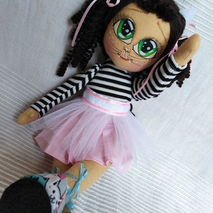 Cica Manyika baba, Gyerek & játék, Játék, Baba, babaház, Otthon & lakás, Dekoráció, Lakberendezés, Baba-és bábkészítés, Cica Manyika  igazi kis hercegnő, egyedi, aprólékosan kidolgozott, szépséges baba, aki tele van szer..., Meska
