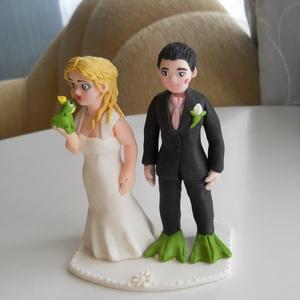 Béka herceges nászpár, Helyszíni dekor, Dekoráció, Esküvő, Mindenmás, Ha úgy érzed, hogy feldobnád az Esküvőd valami nem hétköznapival, akkor a legjobb helyen jársz! :)\nE..., Meska