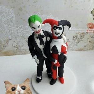 Joker nászpár , Helyszíni dekor, Dekoráció, Esküvő, Mindenmás, Ha úgy érzed, hogy feldobnád az Esküvőd valami nem hétköznapival, akkor a legjobb helyen jársz! :)\nE..., Meska