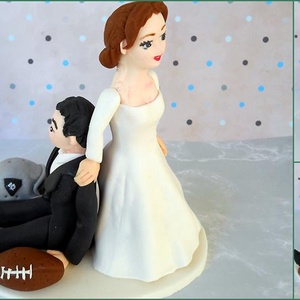 Amerikai focis nászpár , Helyszíni dekor, Dekoráció, Esküvő, Mindenmás, Ha úgy érzed, hogy feldobnád az Esküvőd valami nem hétköznapival, akkor a legjobb helyen jársz! :)\nE..., Meska