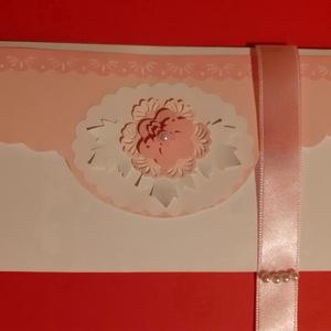 Alkalomra, Nőnapra boríték, Otthon & Lakás, Papír írószer, Boríték, Papírművészet, A boríték mérete: 9 x 16 cm. Nemcsak papírpénz, de utalvány, vagy kisebb ajándék is elhelyezhető ben..., Meska