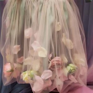 Virágos rét koszorúslány ruha, Ruha & Divat, Babaruha & Gyerekruha, Ruha, Varrás, Ez ruhácska egy igazi kis romantikus darab. Hátát gumírozottra kékítettem, így több méretre is jó. 5..., Meska