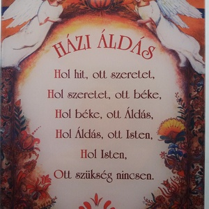Házi Áldás (mariannv) - Meska.hu