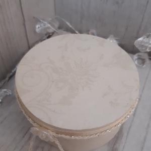 Romantikus, vintage hangulatú gyűrűtartó doboz esküvői ceremóniára! (MaricaPortekai1) - Meska.hu