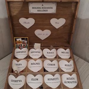 Vicces, romantikus esküvői ajándék! (MaricaPortekai1) - Meska.hu