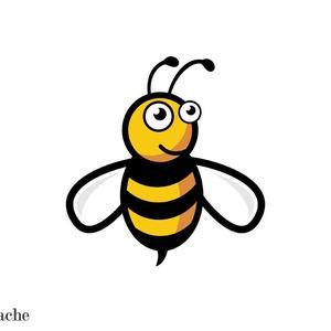 Méhecske szoknya zsebekkel, Ruha & Divat, Női ruha, Szoknya, Varrás, M méretű méhecske szoknya rejtett zsebekkel, Meska