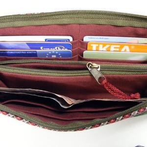 Irattartó pénztárca - táska & tok - pénztárca & más tok - pénztárca - Meska.hu