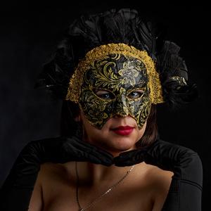 Kalüpszó, Otthon & Lakás, Dísztárgy, Dekoráció, A kegyetlen nimfa ihlette ezt a saját fejlesztésű technikával készült, merevítése miatt arcformára i..., Meska