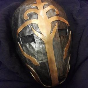 Jedi templomőr maszk, Ruha & Divat, Jelmez & Álarc, Álarc, A Star Wars saga ihlette egyedi, kézzel készült álarc. Kényelmes viselet. Könnyű és nem törékeny. Pr..., Meska