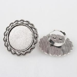 Kerek gyűrű alap antik ezüst színű, Gyöngy, ékszerkellék, Egyéb alkatrész, Ékszerkészítés, Szerelékek, Antiallergén, nikkelmentes fémötvözetből készült ékszerkészítési alapanyag, alkatrész.\n\nAntik ezüst ..., Meska