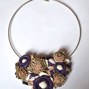 Jardin Violet-nyakék valódi bőrből - Meska.hu
