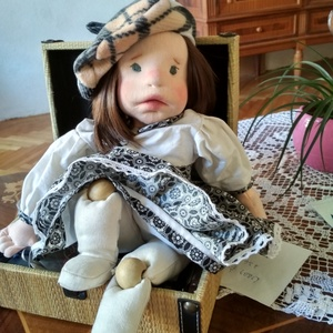 Lencsi waldorf jellegű baba (mavig) - Meska.hu