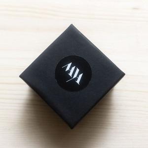kézzel festett üveglencsés gyűrű - Meska.hu