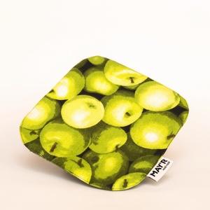 """MAY\'R Edényalátét """"almás"""", Otthon & Lakás, Konyhafelszerelés, Edényalátét, Varrás, Kézzel készült, egyedi edényalátét.\nRemek választás egy stílusos és divatos konyhához.\nanyaga 100% p..., Meska"""