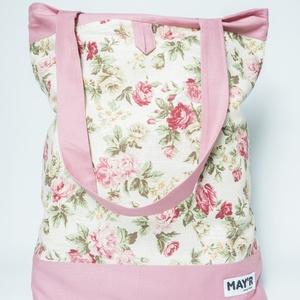 """MAY'R Bevásárló táska """"rózsás"""""""