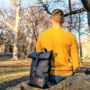 MAY'R L-es Roll Top city bag táska/hátitáska - Meska.hu