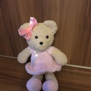 Amigurumi Maci, Játék, Gyerek & játék, Baba játék, Plüssállat, rongyjáték, Játékfigura, Horgolás, Én egy igazi pihe puha Maci kislány vagyok. Magasságom 28 cm. Testem Baby Alize Softy Plus pihe-puha..., Meska