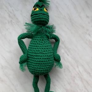 Mr. Grincs, Játék & Gyerek, Plüssállat & Játékfigura, Más figura, Horgolás, Meska