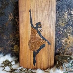 Baleto festett fa dekoráció, Otthon & Lakás, Lakberendezés, Festett tárgyak, Famegmunkálás, Meska