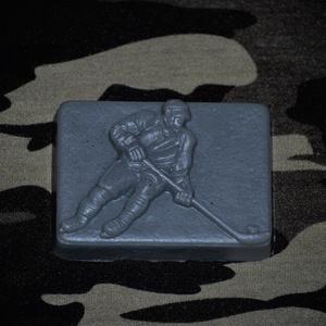 Szappan jégkorongos formában férfias illattal (medalin) - Meska.hu