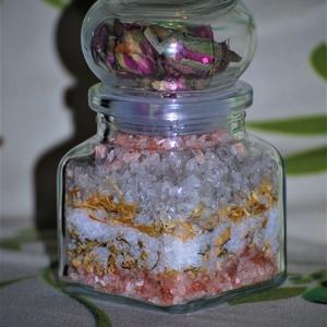 Dekoratív fürdő só egészségesen (medalin) - Meska.hu
