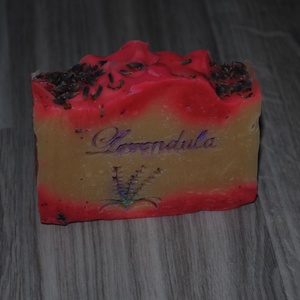 Juhtejes-mézes ápoló levendula szappan prémium kakaó és mangóvajjal egyedi ajándék szülinapra névnapra minden bőrtípusra (medalin) - Meska.hu