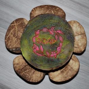 Chocolate orchid mangóvajas kecsketejes orchidea szappan ajándék szülinapra névnapra normál száraz zsíros érett bőrre, Szépségápolás, Szappan & Fürdés, Szappan, Kozmetikum készítés, Szappankészítés, Lenyűgöző parfümös illatával és ápoló összetevőivel gondoskodik a tökéletes fürdőzésről ez a különle..., Meska