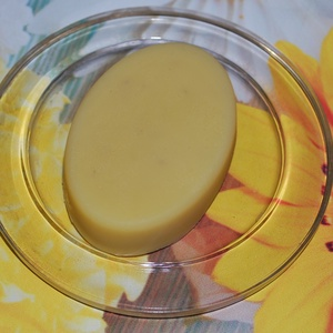 Mangó vajas testápoló sáfrányos szeklice olajjal és levendula illóval, Táska, Divat & Szépség, Szépség(ápolás), Kozmetikum, Krém, szappan, dezodor, Egészségmegőrzés, Kozmetikum készítés, Ezt az igazán gazdag szilárd testápolót sáfrányos szeklice olajjal készítem, mely egy többszörösen t..., Meska