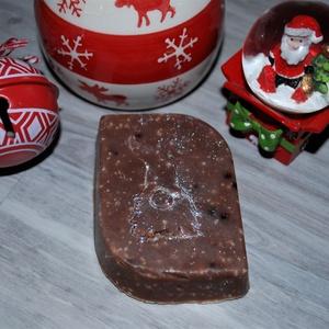 Akció! Mézes kecsketejes dió szappan kakaóvajjal és olajokkal mikulásra csomagba ajándék karácsonyra minden bőrtípusra, Szépségápolás, Szappan & Fürdés, Szappan, Kozmetikum készítés, Szappankészítés, Akció!\nMost 790 Ft helyett 650 Ft-ért vásárolható meg ez a manós szappan.\nEz egy igazán extra, kréme..., Meska