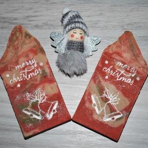Argán olajos szappan karácsonyi mintával kellemes fahéjas fűszeres illattal minden bőrtípusra ajándékba is