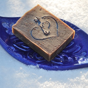 Mentolos shea vajas kakaóvajas vegán egyedi csokoládé szappan kender olajjal ajándékba szülinapra névnapra ló mintával, Szépségápolás, Szappan & Fürdés, Szappan, Kozmetikum készítés, Szappankészítés, Ezt a mentolos csokoládé szappant valódi étcsokoládéval és prémium kakaóvajjal készítettem.\nTermésze..., Meska