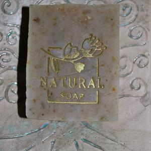 Gyógynövényes szappan szarvas faggyúval színezék mentesen lime koriander illattal egyedi ajándék születésnapra névnapra, Szépségápolás, Szappan & Fürdés, Szappan, Kozmetikum készítés, Szappankészítés, Ez egy gazdag összetételű különleges gyógynövényes szappan amit lime-koriander illattal készítettem ..., Meska