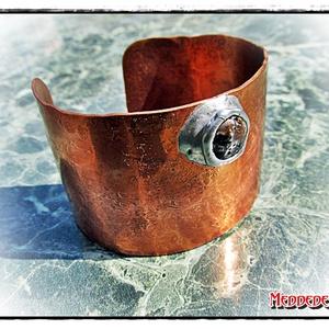 MD Steampunk Karperec Óceán-jáspis ásvánnyal (Medde) - Meska.hu